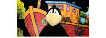 Verschoben: Puppentheater – Kleiner Rabe Socke